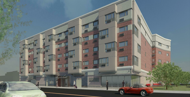 Tagliareni Plaza affordable housing development in Bayonne