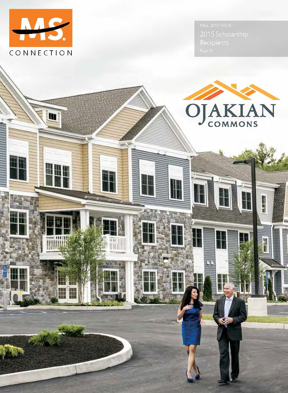 Cover Page from MS-CONNECTION-Fall-2015 - Ojakian Article